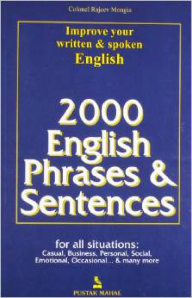 2000 English Phrases & Sentences (English) 01 Edition