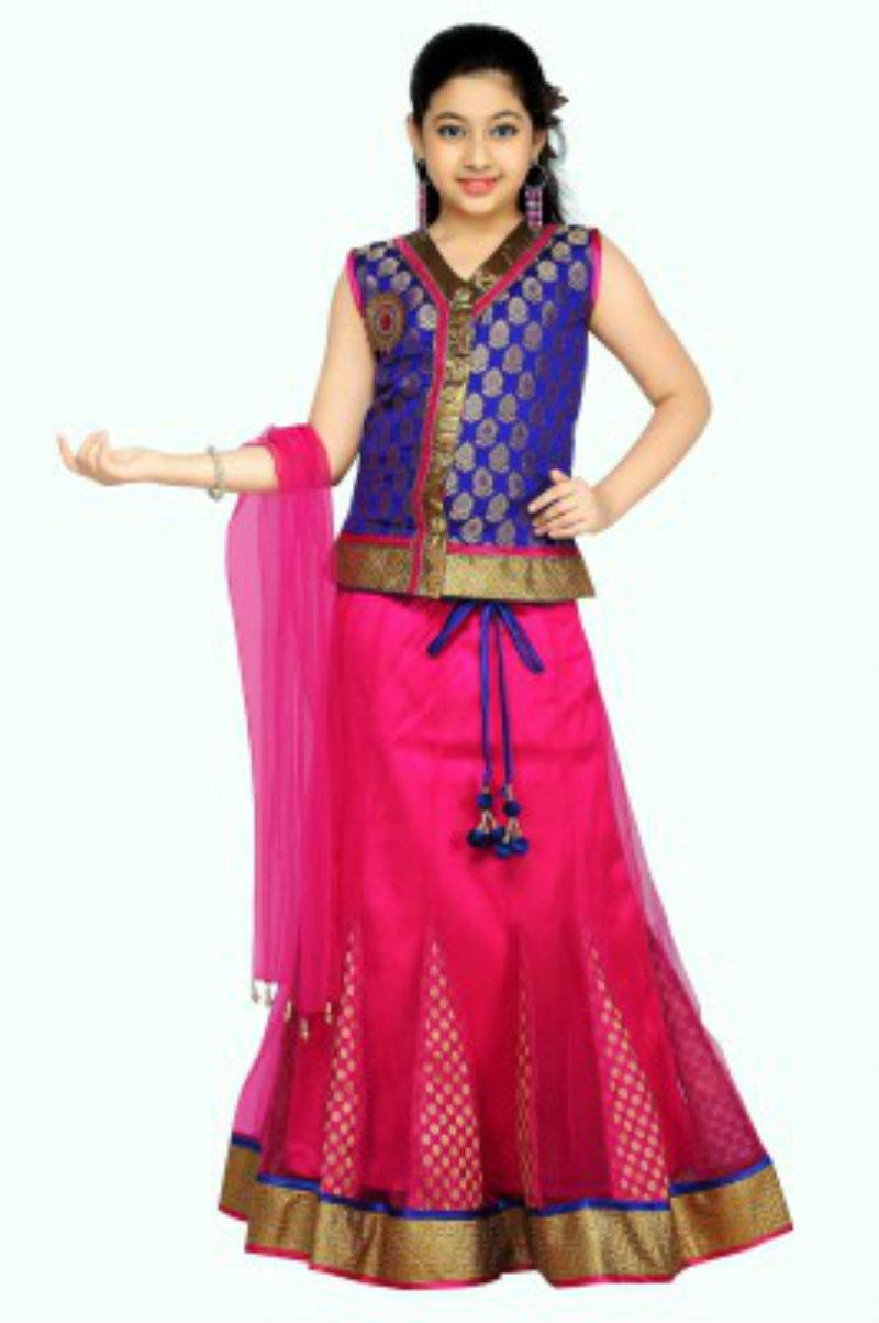 Aarika Self Design Girl