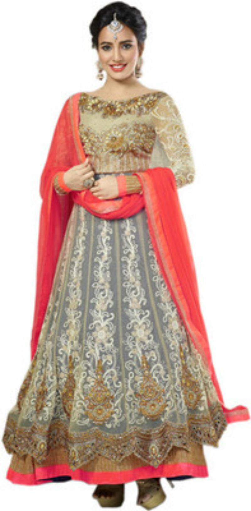 Blue Woman Salwar Suit for Wedding