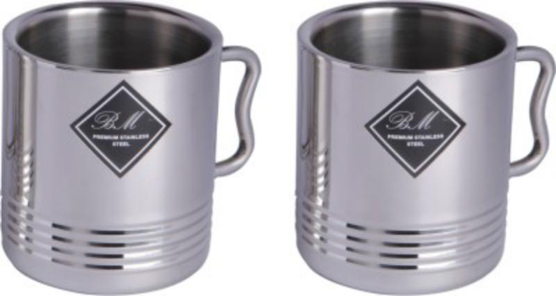 BM Jumbo Stainless Steel Mug