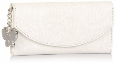 Butterflies Smarty White Wallet