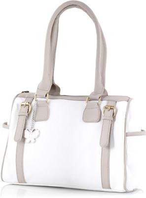 Butterflies handbags-White