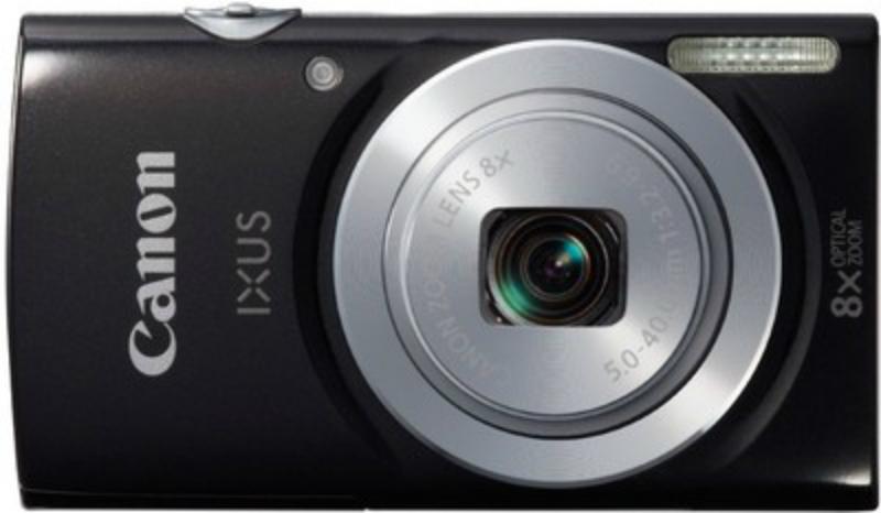 Canon IXUS 145 16MP Point and Shoot Camera (Black)