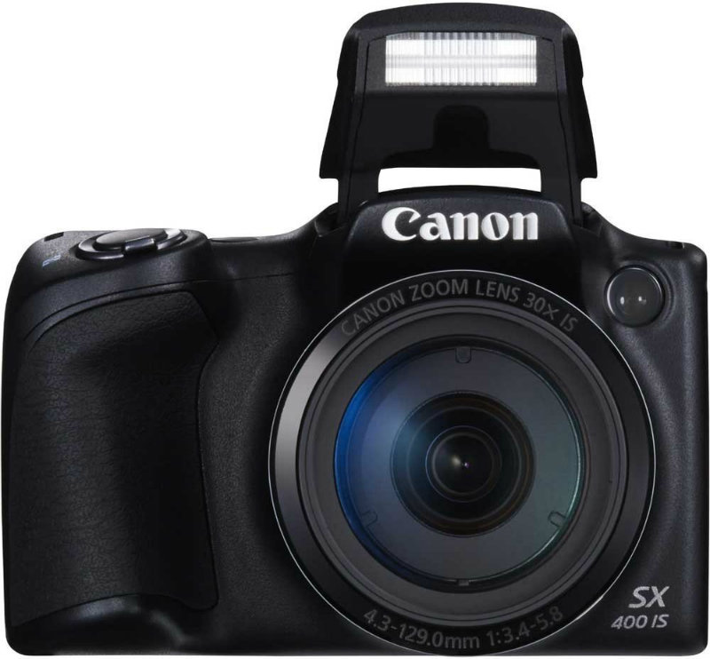 Canon PowerShot SX400 IS Point & Shoot Camera (Black)