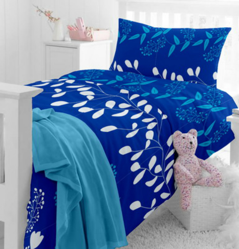 Home Ecstasy Cotton Floral Single Bedsheet
