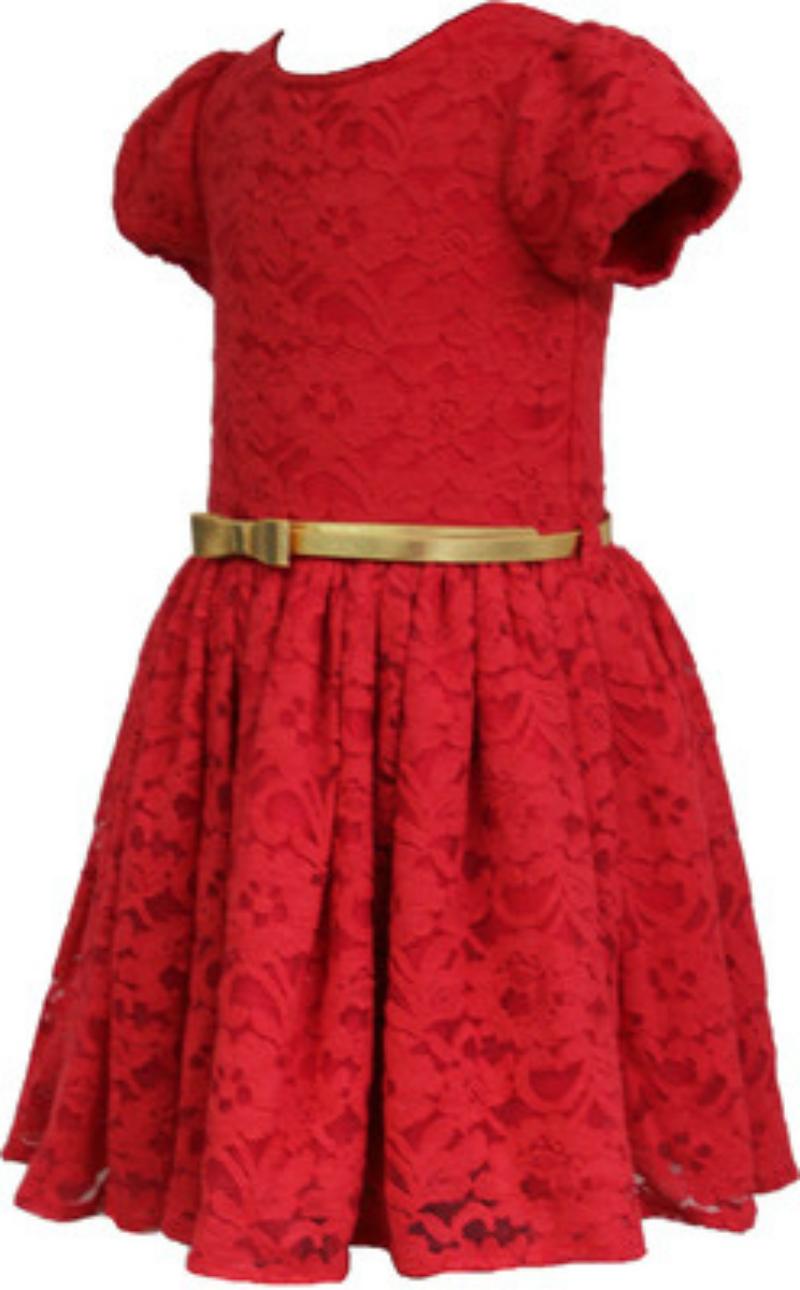 Cranberry Red Girls Dress
