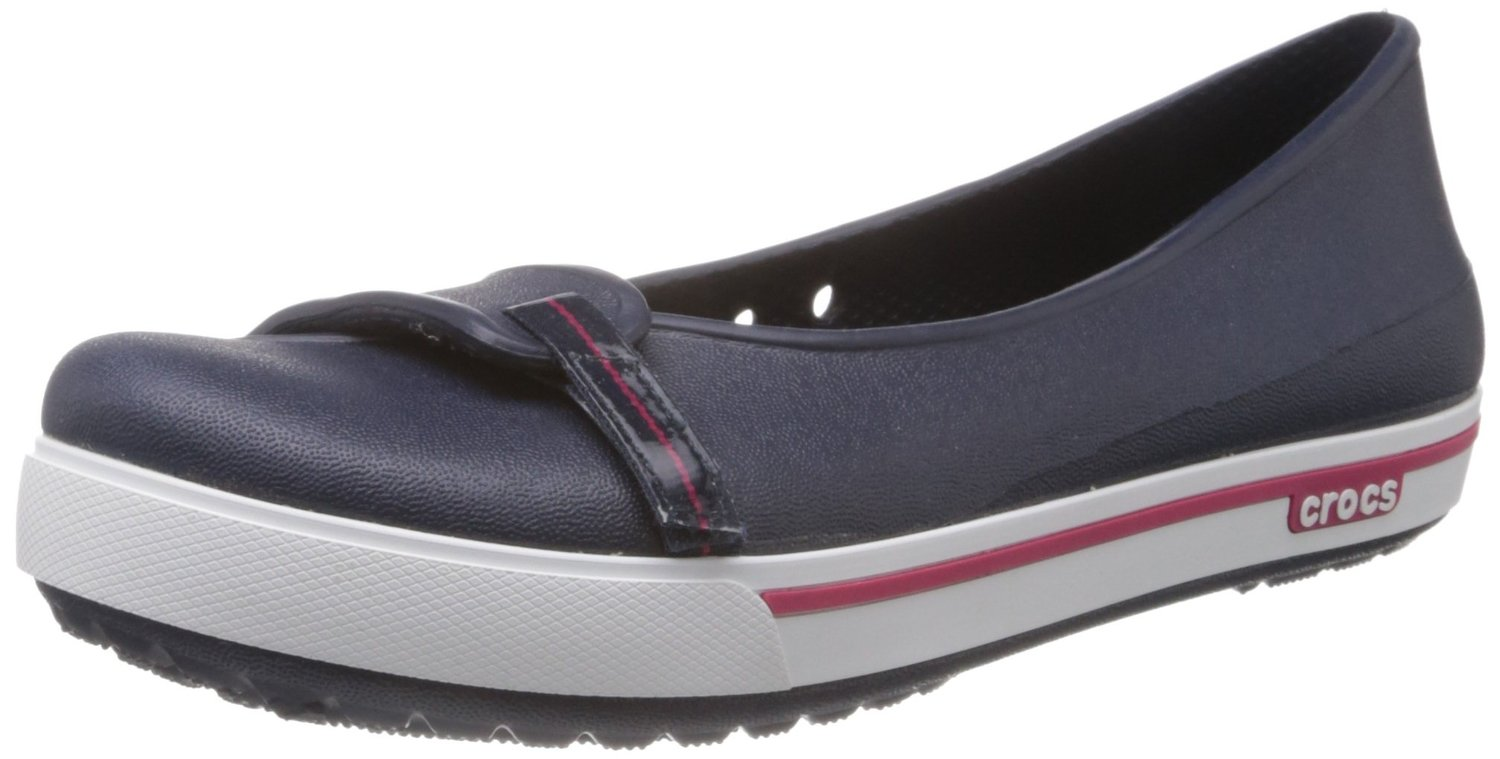 Women's flat Footwear, Crocs