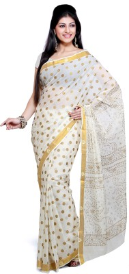Designer Cotton Saree by Ishin