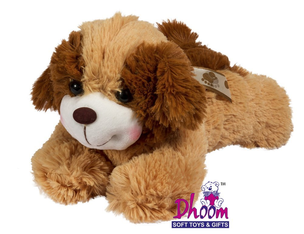 Dhoom Soft Toys Dog Brown (12 Inches)