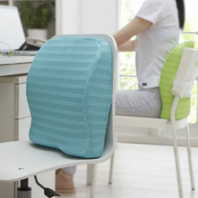 HealthSense Backrest Cushion with Memory Foam