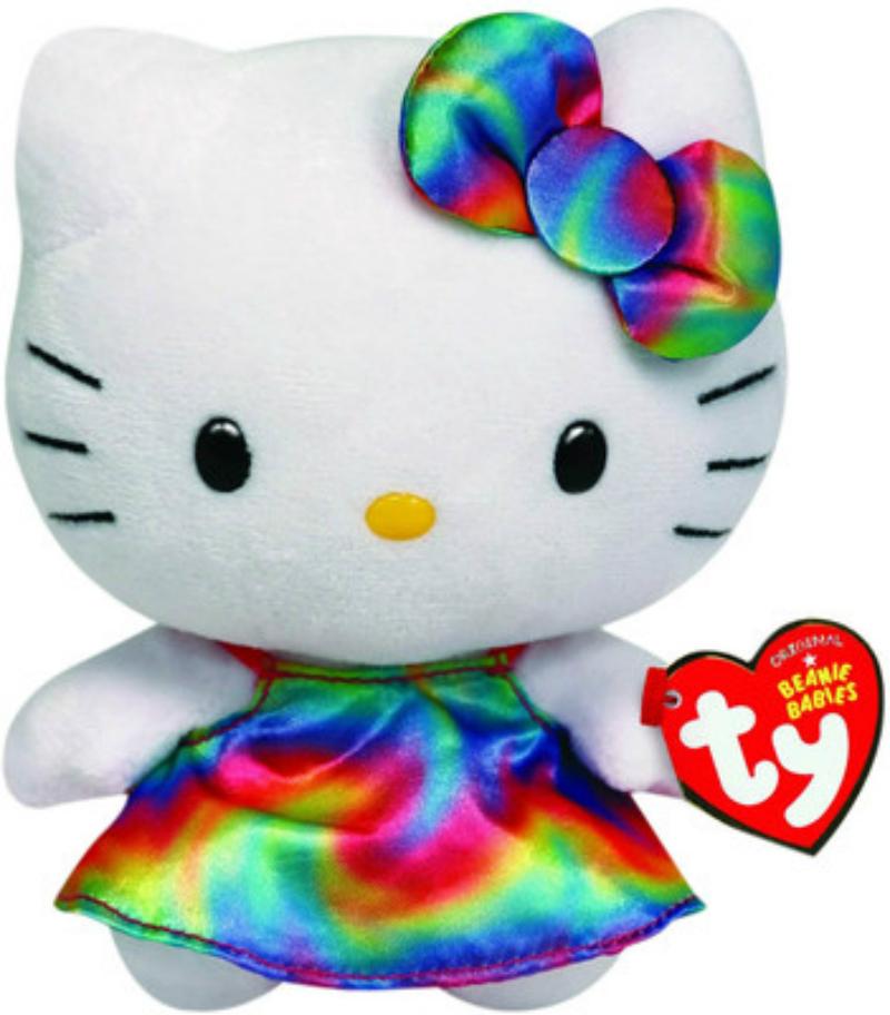 Ty Baby Hello Kitty Rainbow