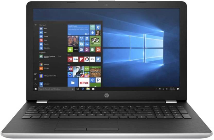 HP Notebook Core i3 7th Gen - (4 GB/1 TB HDD/Windows 10) 15-BS662TU Laptop  (15.6 inch, SIlver)