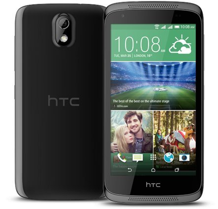 HTC Desire 526G Plus (Glossy Black)