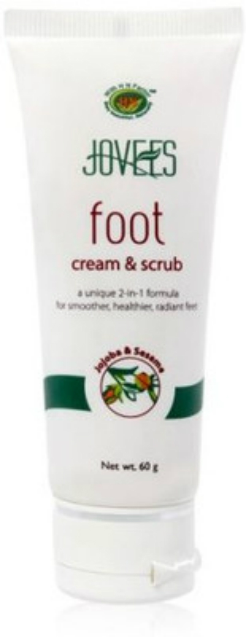 Jovees Foot Cream & Scrub(60 g)