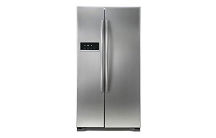 LG GC-B207GLQV Side-by-Side Refrigerator (581 Ltrs, Platinum Silver)