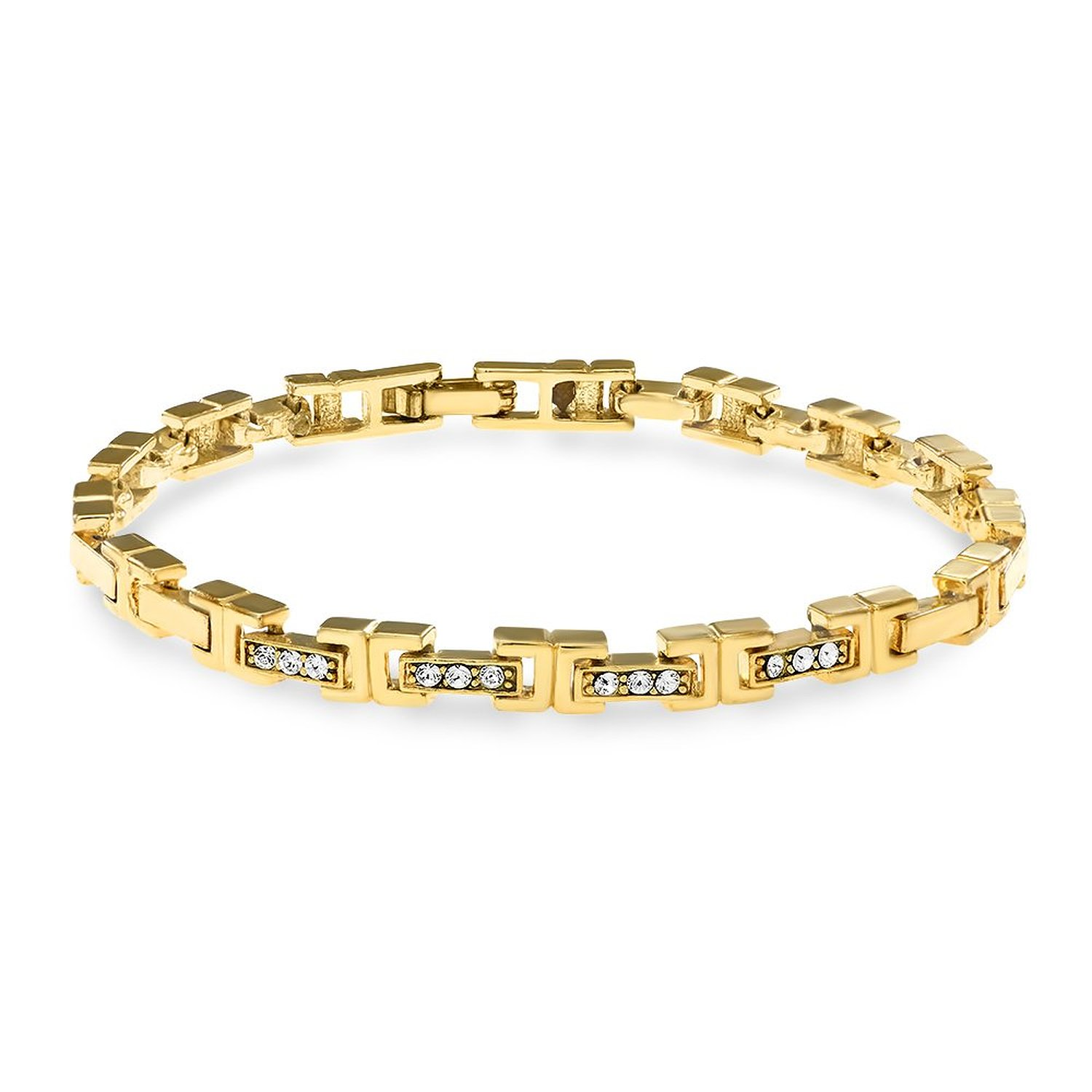 Mahi Ultimate Alloy 24K Yellow Gold Bracelet