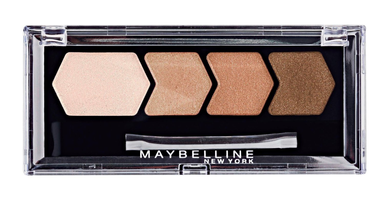 Maybelline Diamond Glow Quad Eye Shadow, Copper Brown