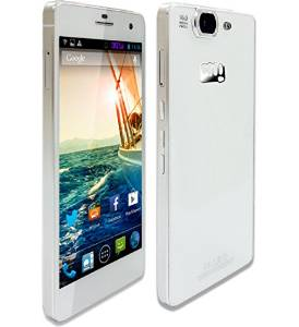 Micromax Canvas Knight A350-White and Gold