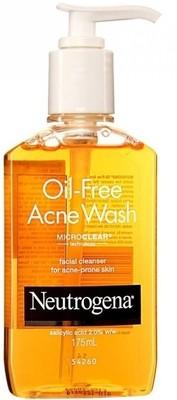 Neutrogena Oil Free Acne Face Wash (175 ml)