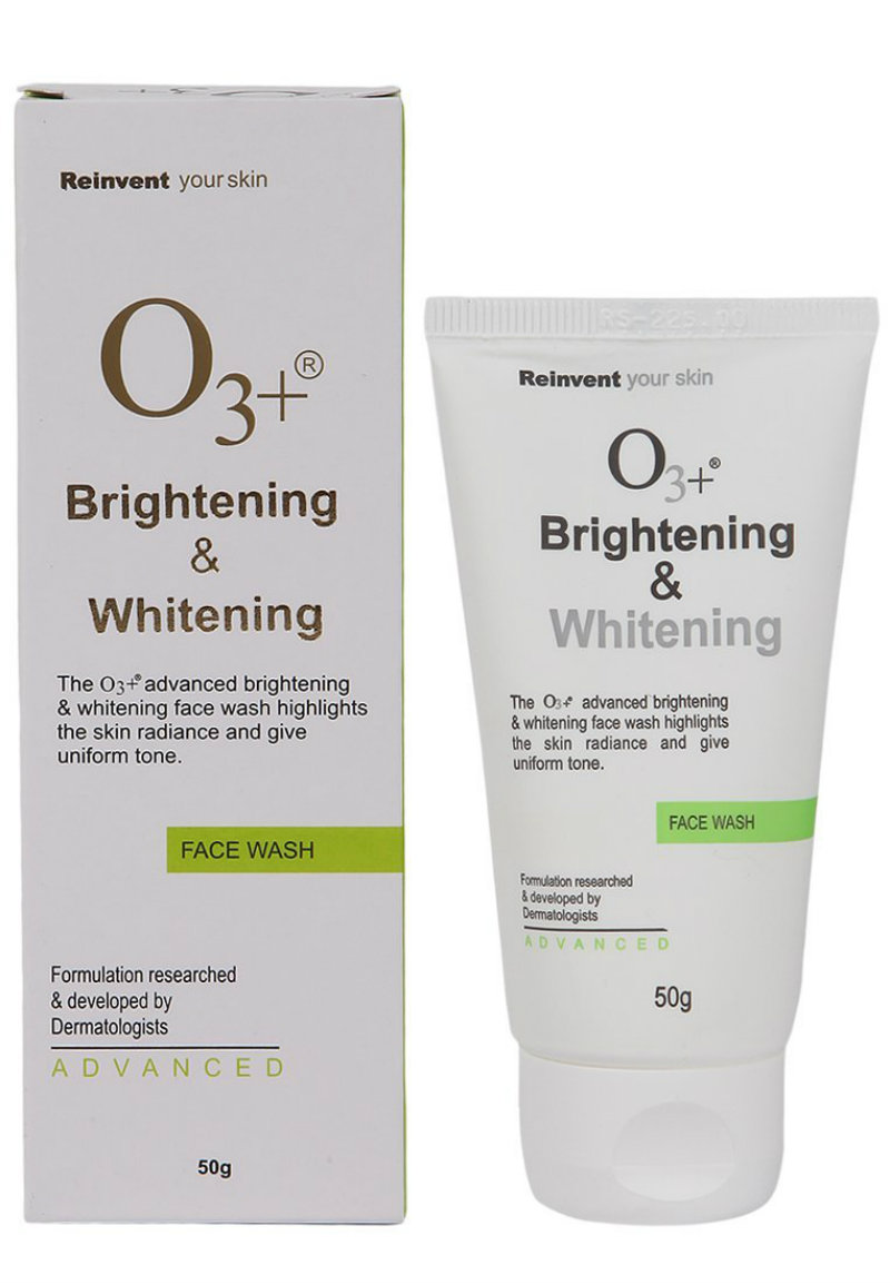 O3+ Brightening & Whitening Face Wash