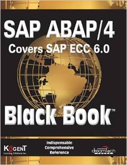 SAP ABAP/4, Covers SAP ECC 6.0, Black Book