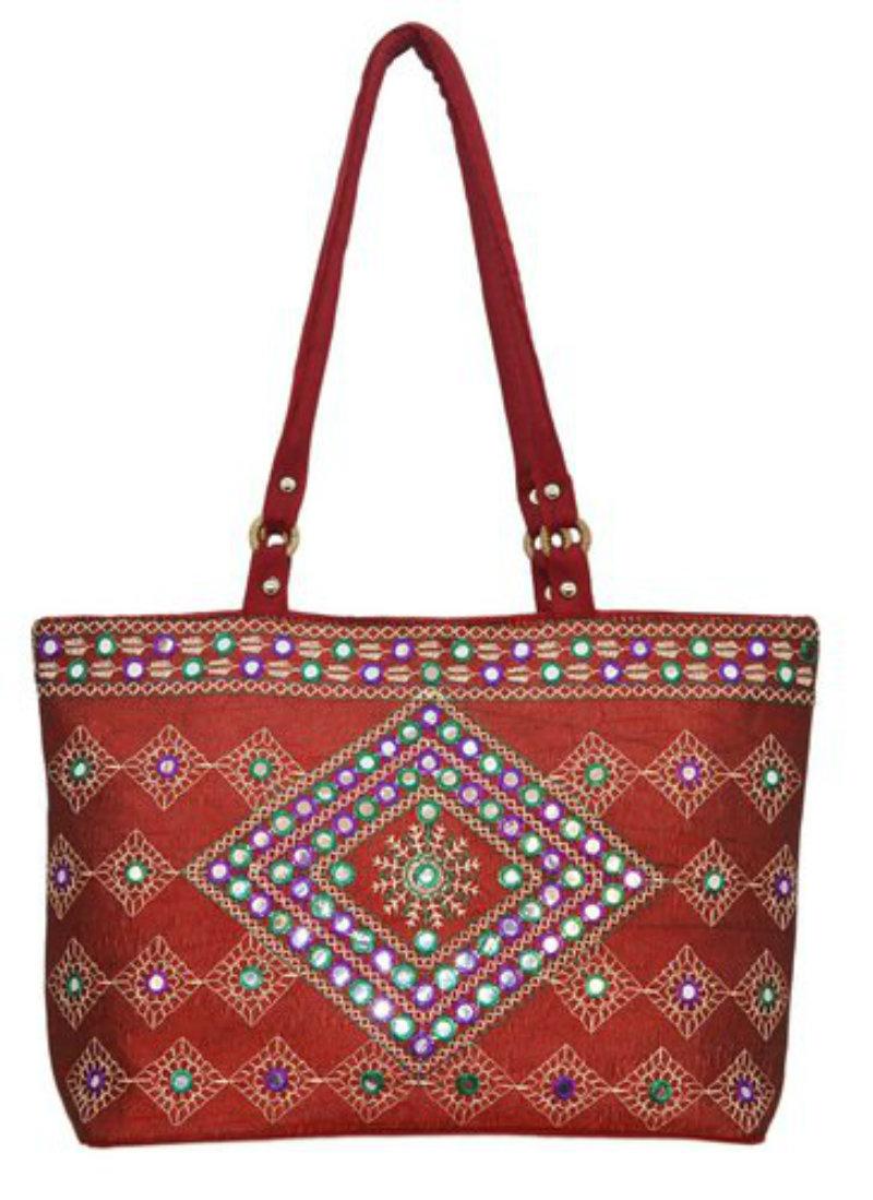 Shilpkart Ethnic Embroidery Hand Bag