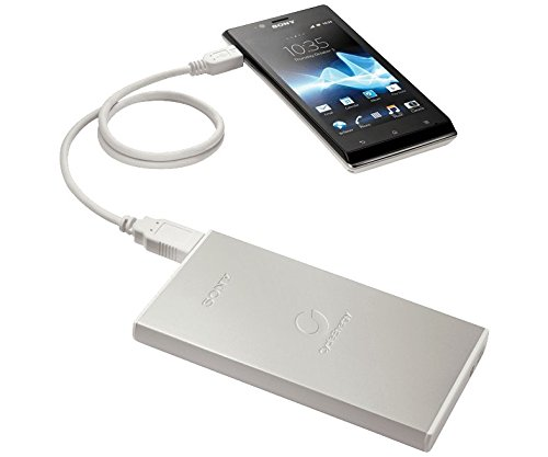 Sony CP-F2L 7000mAH Portable Charger (Silver)