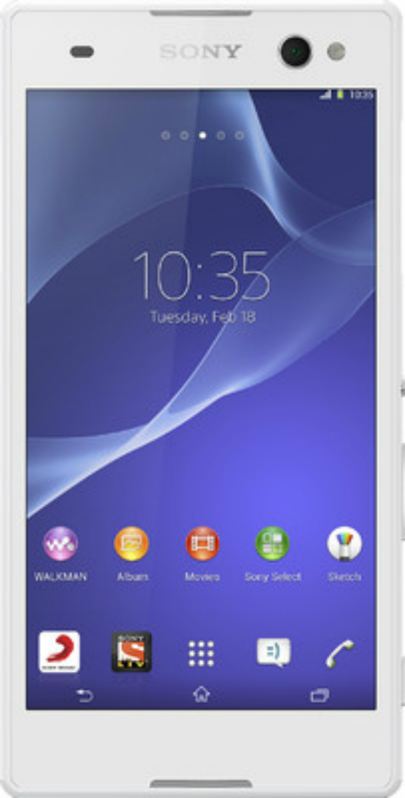 Sony Xperia C3 Snow White