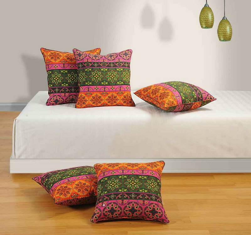 Swayam Multicolor Cushion Covers