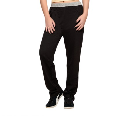 Towngirl Black Solid Women