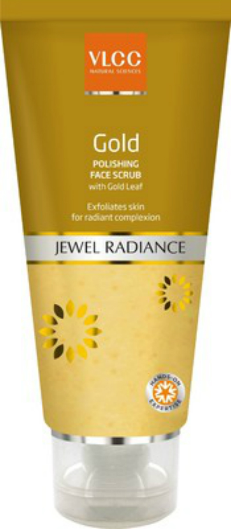 Vlcc Gold Jewel Radiance Polishing Face Scrub