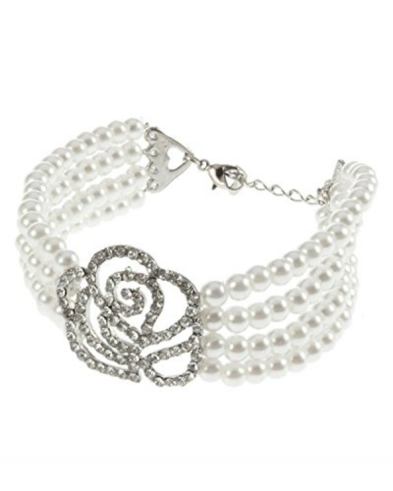 Young & Forever Rose Pearl Bracelet