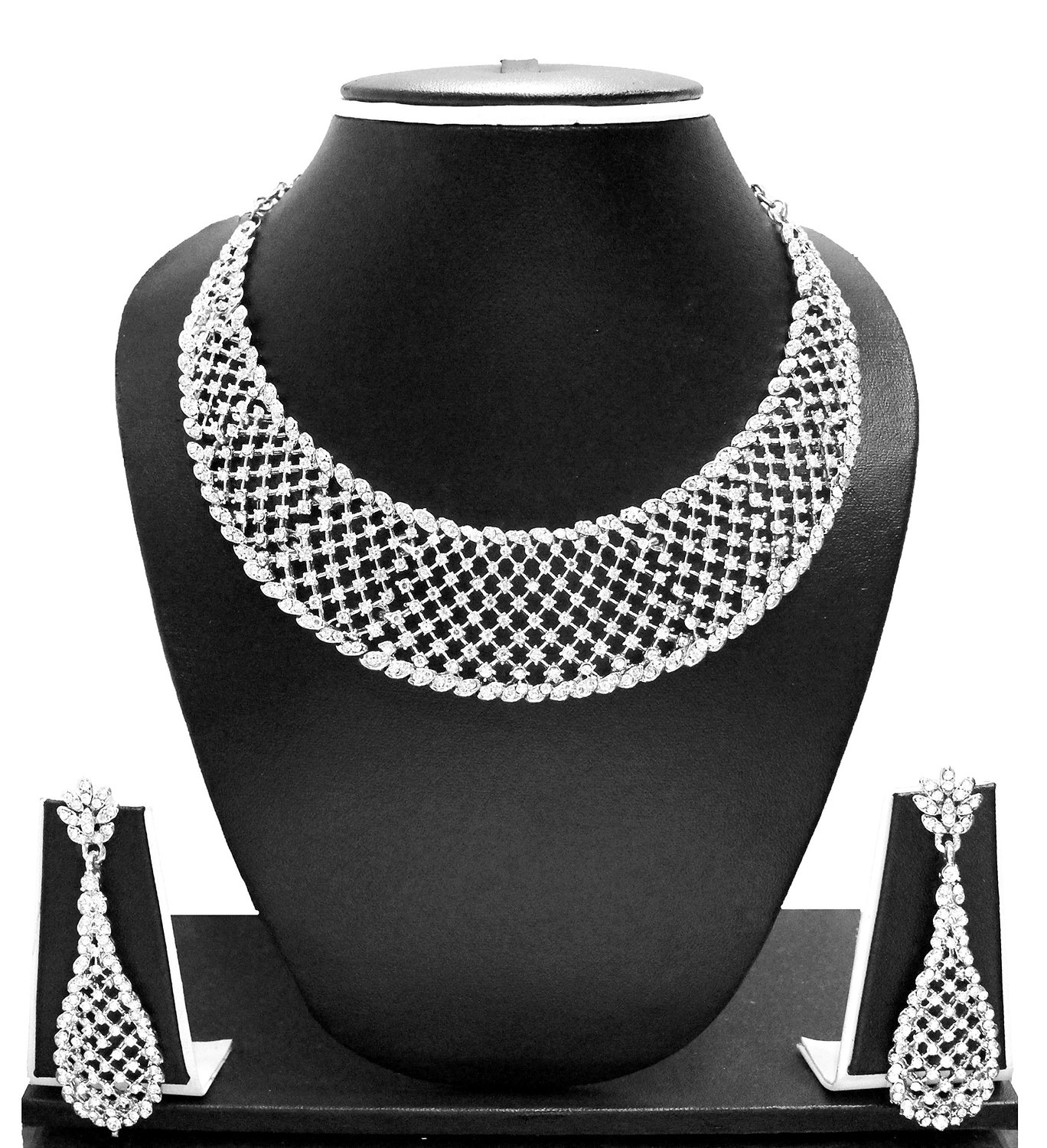 Zaveri Pearls Necklace Set, Necklace Set
