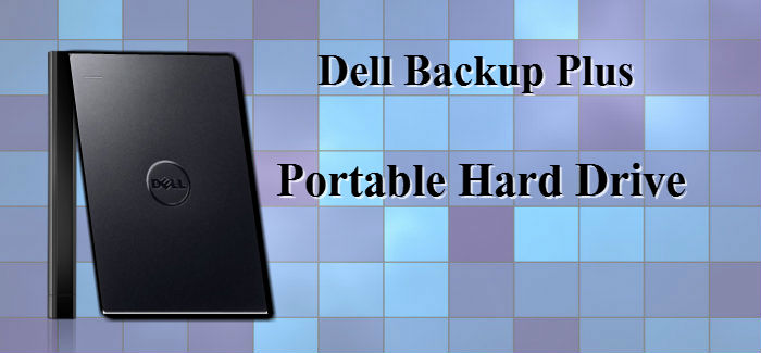 Dell Backup Plus 1TB USB 3.0 Portable Hard Drive