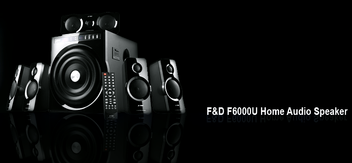 F&D F6000U Home Audio Speaker